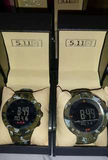 5.11 Tactical watch (couple watch) P1300/pair