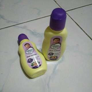 [Dapat 2] Cussons baby hair lotion