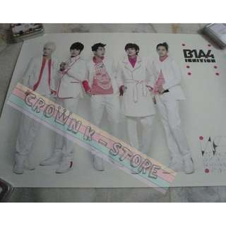 [CRAZY DEAL 90% OFF FROM ORIGINAL PRICE][READY STOCK]B1A4 KOREA OFFICIAL POSTER!NEW! OFFICIAL ORIGINAL FROM KOREA  (PRICE NOT INCLUDE POSTAGE) SHIP USING TUBE