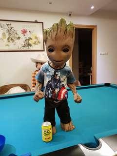 Neca Lifesize teen baby Groot