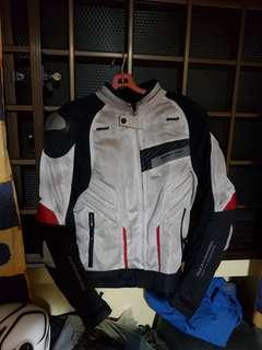 Komine titanium series jacket