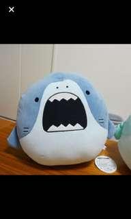 Samezu - Squishy XL Plush dark blue shark japan original sealed in plastic large size japan shipped