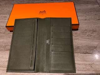 Authentic Hermes bifold wallet