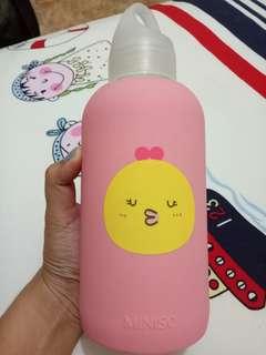 Botol pink Miniso