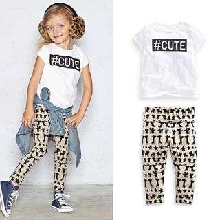 Shirt & Pants for Girls