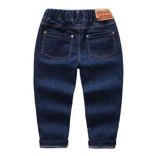 現貨全新  兒童牛仔褲、寶寶牛仔褲、窄版牛仔褲、彈性牛仔褲