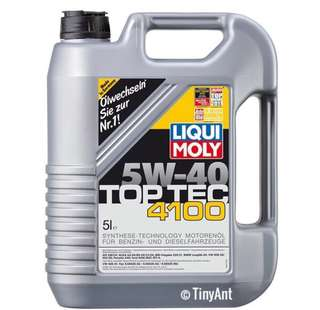 (Offer) Liqui Moly TopTec 4100 Engine Oil (5W-40)