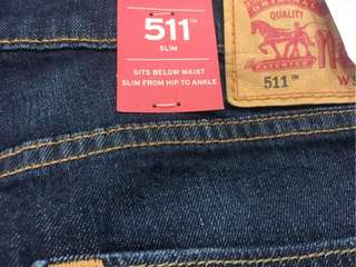 「美國直送;尺寸都有」美國正品Levi's 牛仔褲 511 小直筒 中直筒 海鷗