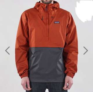 PATAGONIA TORRENTSHELL PULLOVER JACKET – COPPER ORE