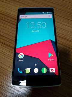 OnePlus One (Silk White)