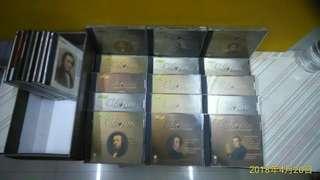 《古典音樂》CHOPIN PIANO MUSIC . VOUME 1-15  蕭邦鋼琴音樂作品 全套 共15張CD 1810~1849 原價 $4500 保存完整 近全新 ~~
