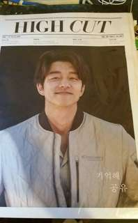 Gong yoo books   high cut