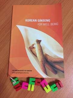 Ginseng Health Benefit book