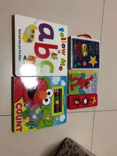 Elmo abc counting rhythm books toddler