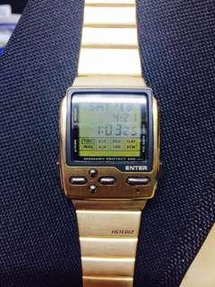 CASIO 金錶 (全新)古鐘錶店發現!原價5400