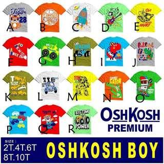 Kaos anak laki2 OSHKOSH ORIGINAL