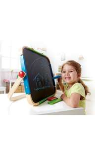 BN Hape Anywhere Table Top Kid's Portable Double-Sided Art Easel Set