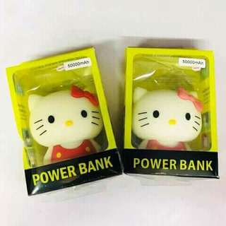 Doraemon/Hello kitty Powerbank