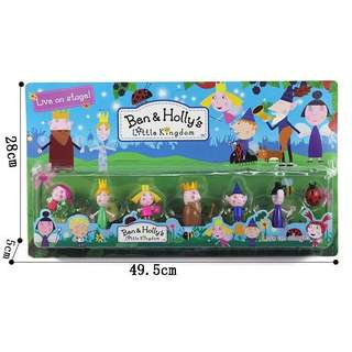 PO Ben & Holly Figurines