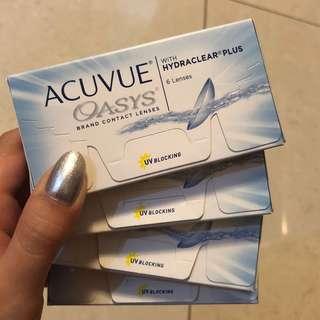 Acuvue Oasys -3.50 dan -4.50