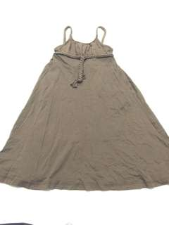 GAP brown long dress