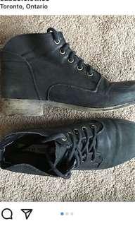 Black steve madden 7 1/2 shoes