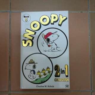 Snoopy comic book