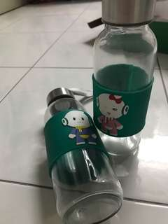Oppo glass bottle