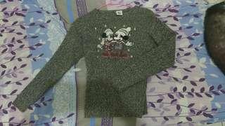 🚚 迪士尼復古風米奇米妮毛衣