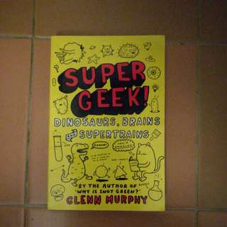 Super Geek book