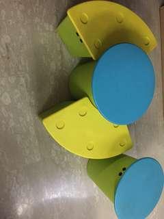 Kids children table chair storage container