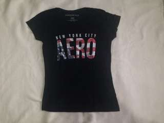Aeropostale black shirt FREE SHIPPING!!!