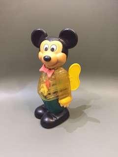 1970 年代 Disney 正版古董 上錬米奇 Made in Hongkong 香港製造 $880