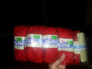 Red wools for sale