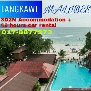 Langkawi 3D2N Free & Easy Malibest + 1 car rental