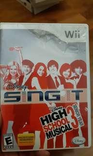 Wii High school musical 3