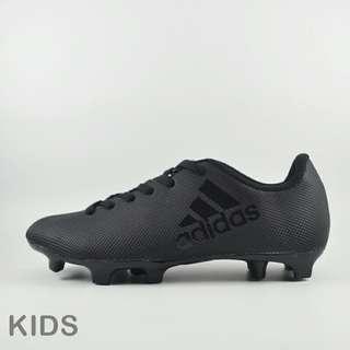 Sepatu bola adidas kids full black