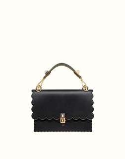 Fendi Women's Leather Shoulder Bag Kan I