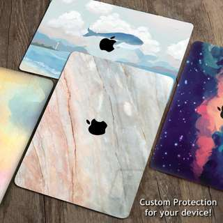 Apple Macbook Skin Decal Sticker Protector Custom DIY pro air