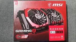 Msi Gaming X Radeon RX 580 8GB Graphic Card GPU RX580
