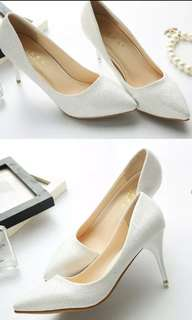 Elegant Pointed Toe Heels
