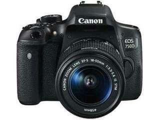 Canon 750d bisa cicilan tanpa cc
