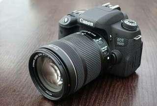 Canon 760d bisa cicilan tanpa cc