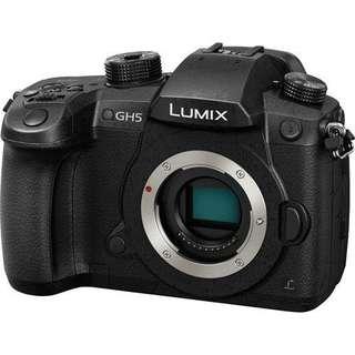 Panasonic Lumix DC-GH5 Micro Four Thirds Body Only Bisa Kredit Bunga 0%