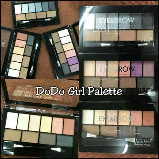 Dodo Girl Eye&Brow Palette