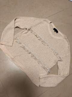Untitled knitwear top