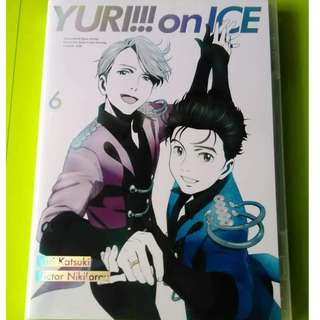 YURI ON ICE DVD VOLUME 6