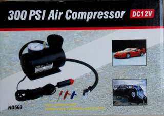 【打氣機】Air Compressor,DC12V,300 PSI,保存良好