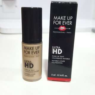 NEW Makeup Forever MUFE Ultra HD Foundation travel size Y225