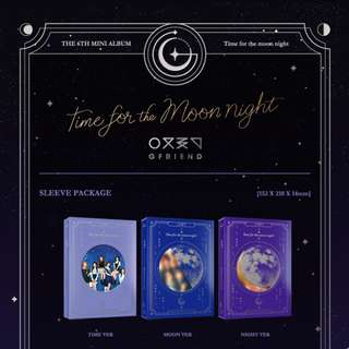 [PREORDER] Girl Friend (여자친구) - MINI 6TH TIME FOR THE MOON NIGHT